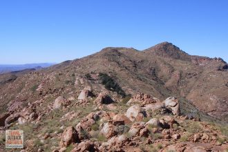 Mt Zeil, highest mountain in the Northern Territory