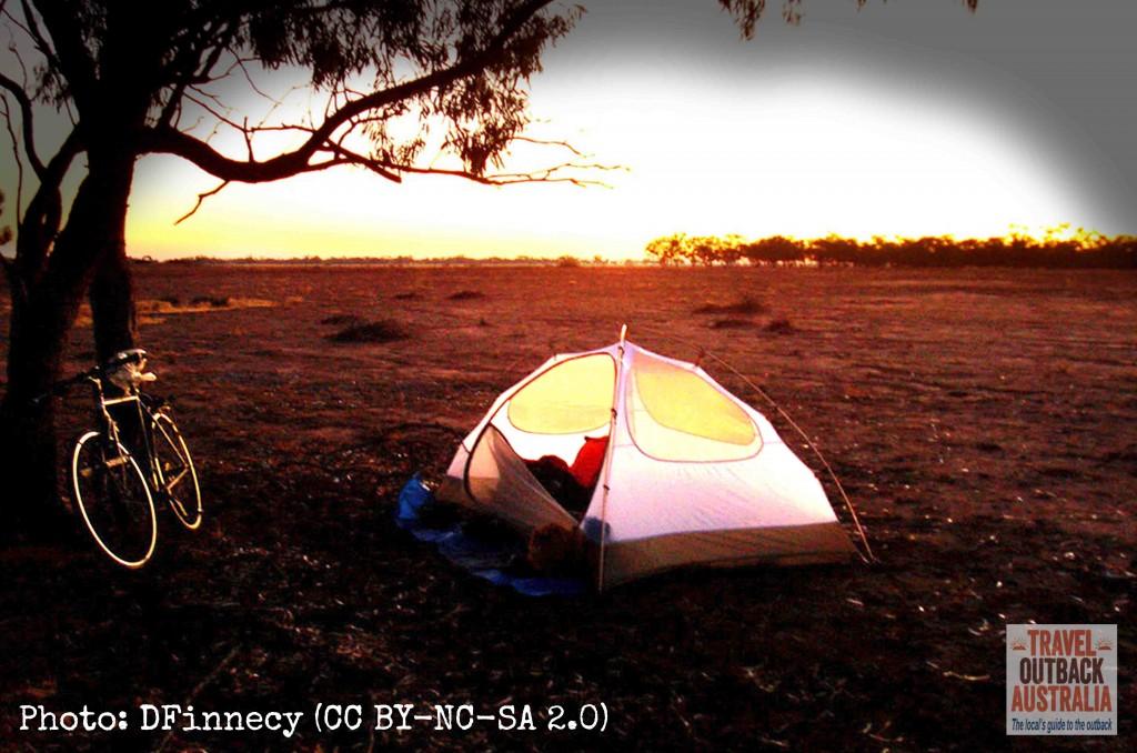 Cycling outback Australia
