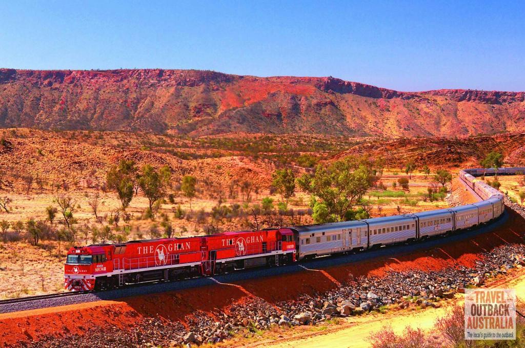 The Ghan Train, Alice Springs, Australia