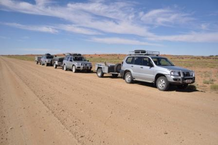 Lake Eyre Road Conditions