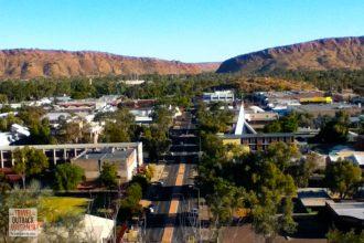 Alice Springs. outback Australia
