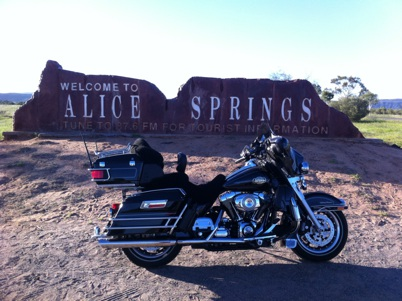 Getting to Alice Springs Australia