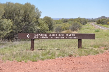 Serpentine Chalet, Palm Valley Chalet, West MacDonnell Ranges, outback Australia