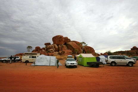 Devils Marbles, camping, Outback Austrlia, NT