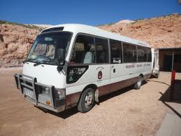 Bus to Alice Springs