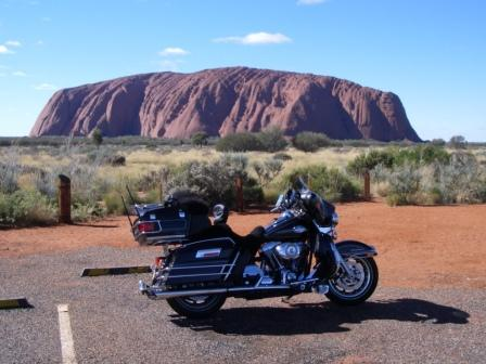 Getting to Ayers Rock