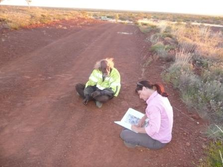 Working with Aboroiginal Elders in Central Australia