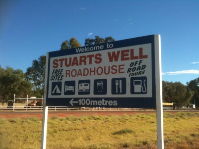 Driving to Alice Springs