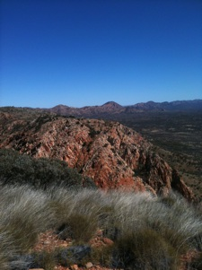 Larapinta Trail, West MacDonnell Ranges, outback Australia, hiking