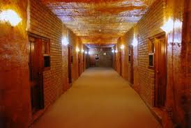 Underground hotels, Coober Pedy, Lookout Cave
