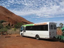 Mulga Tours bus, Uluru tours