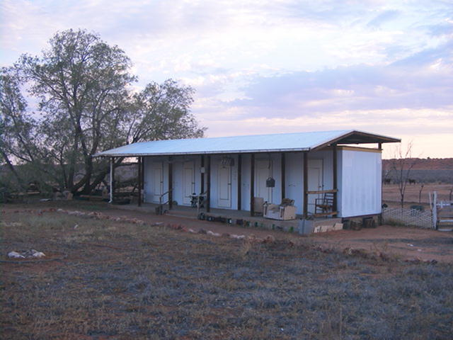 Outback accommodation, Old Andado accommodation
