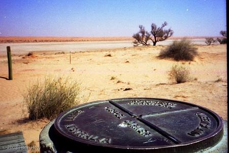 Poeppel Corner, Simpson Desert, Australia, travel