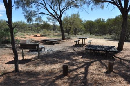 A great place to camp. Woodland Campground, Redbank Gorge, West MacDonnell National Park