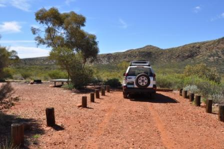 Best seat in the house: Ridgetop Campground, Redbank Gorge, West MacDonnell National Park