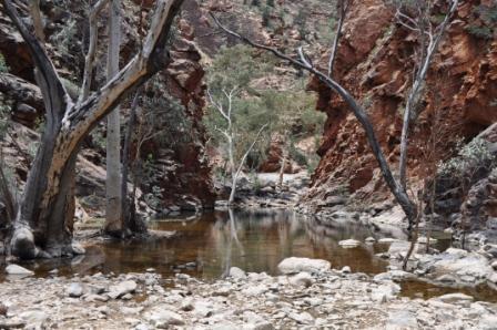 Serpentine Gorge, West MacDonnell Ranges, Ouback Australia