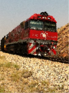 Alice Springs Australia, the Ghan rail service