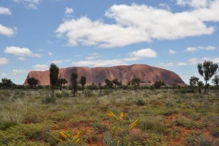 Best time to go to Ayers Rock