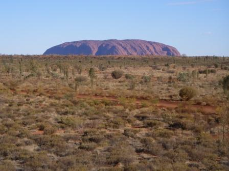 Aboriginal name of Ayers Rock, Ayers Rock, Australia