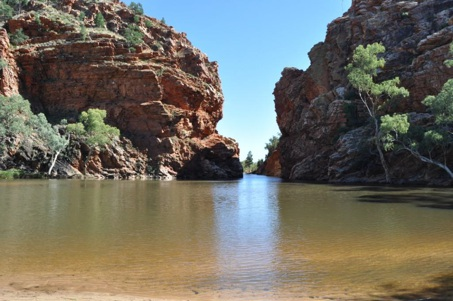 Ellery Creek Big Hole, West MacDonald National Park, Alice Springs, Australia, travel