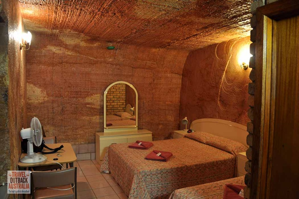 Coober Pedy, underground hotel, outback Australia
