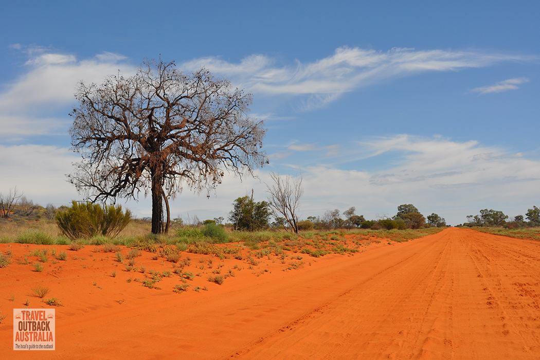 Docker Road, Great Central Road, outback Australia