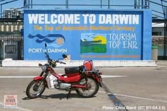 Postie bike, Darwin