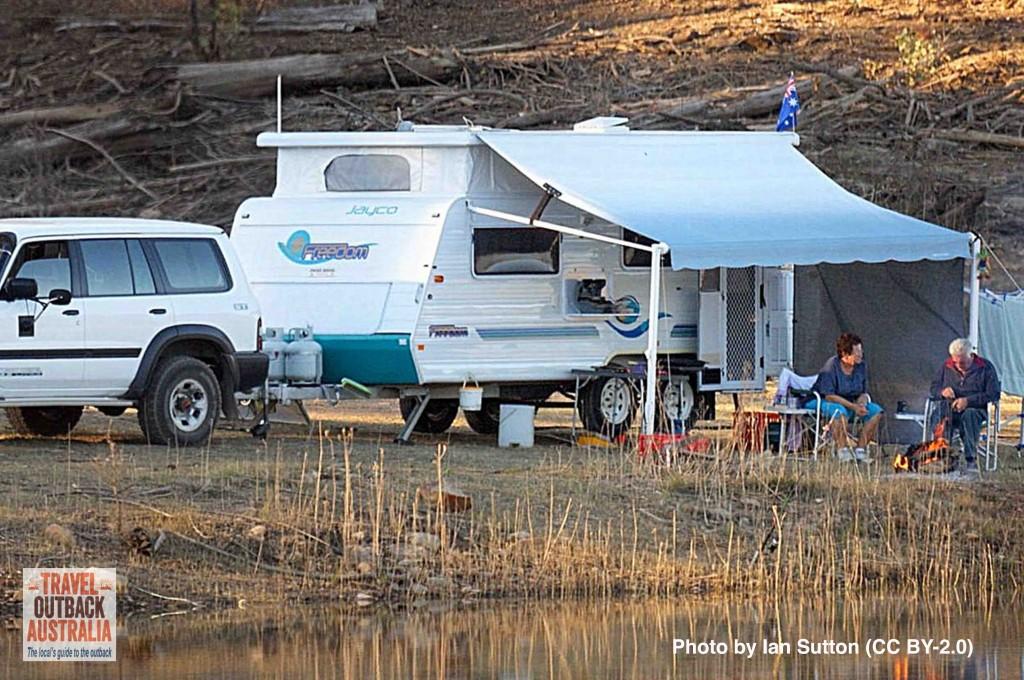 Grey Nomads camping