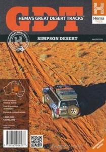 HEMA Simpson Desert Map