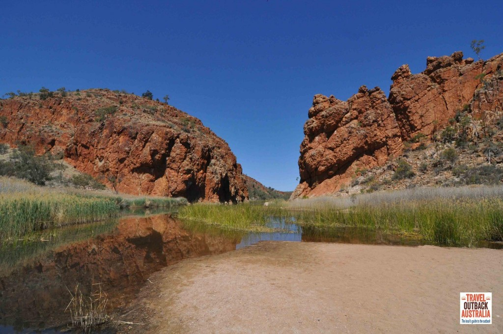 Glen Helen Gorge, Red Centre Way, Alice Springs