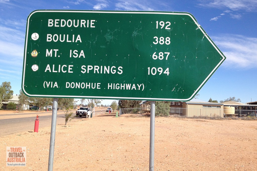 Birdsville-mileage-sign