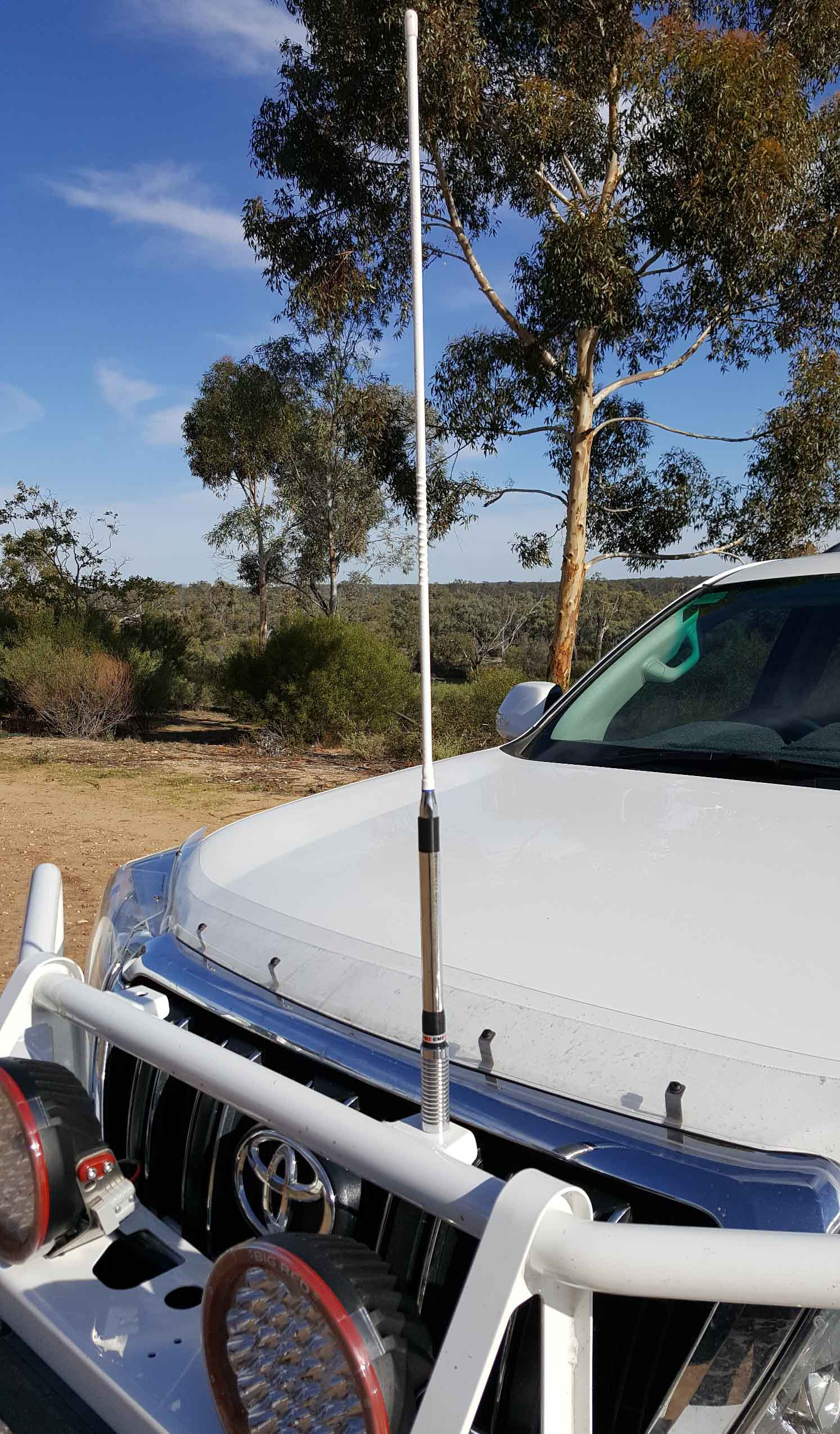 Outback Communication Installing The Gme Tx3350 Uhf Cb Radio Hidden Car Antenna Wiring Diagram
