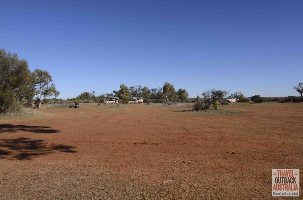 Farina campground, outback south australia