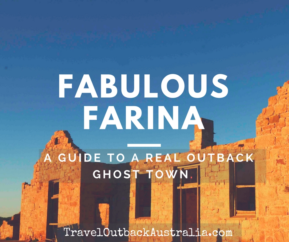 Farina, outback South Australia, ghost town