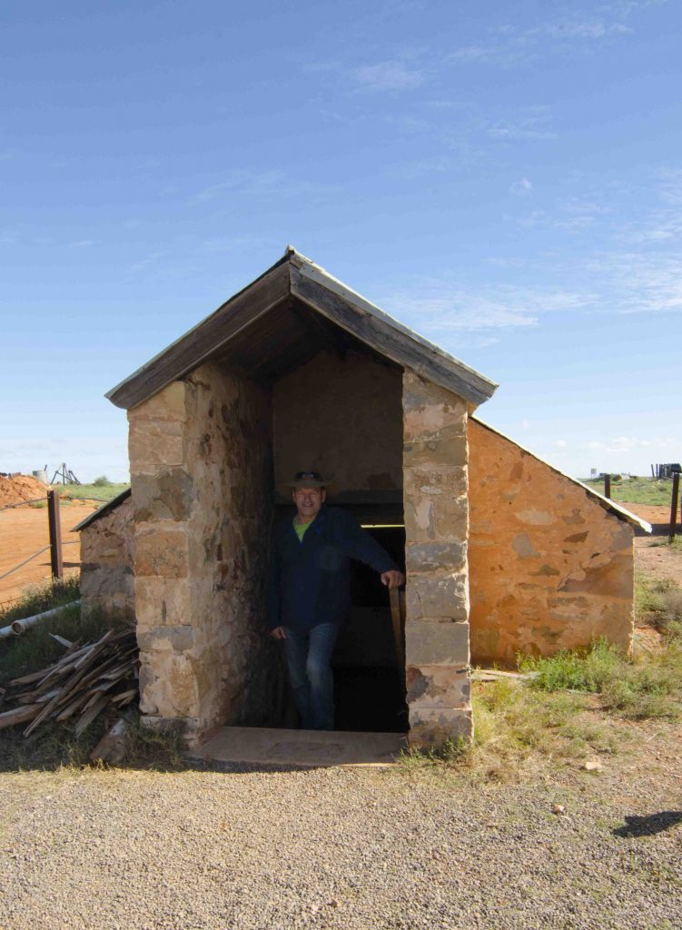 Farina underground bakery, outback South Australia