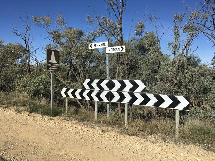 Morgan Mail Road, South Australia, outback Australia