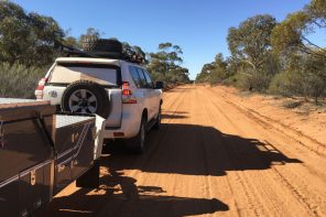 Morgan Mail Road, outback Australia, South Australia