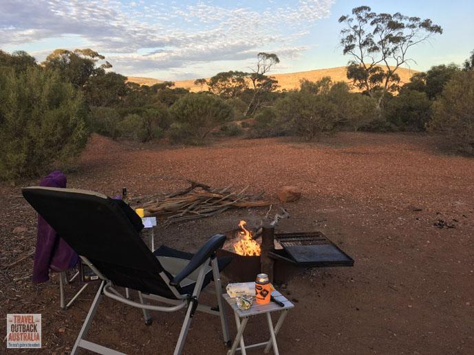 Yandinga Campsite, Gawler Ranges, South Australia