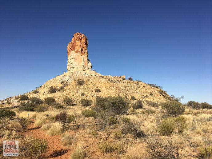 Chambers Pillar, Northern Territory, outback Australia