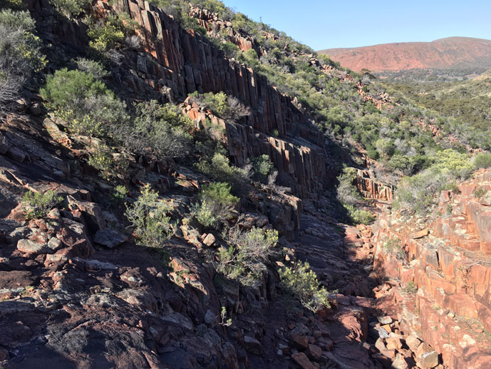 Organ Pipes, Gawler Ranges, South Australia