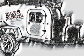 Signature camper trailer