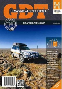 HEMA Great Desert Tracks Eastern Mapsheet