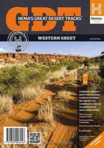 HEMA Great Desert Tracks Western Mapsheet