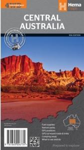 HEMA Central Australia Mapsheet