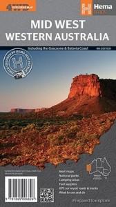 HEMA Mid-West Western Australia Map