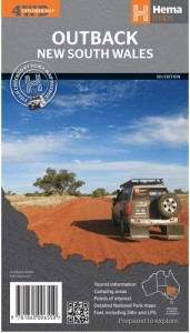 HEMA Outback NSW Map