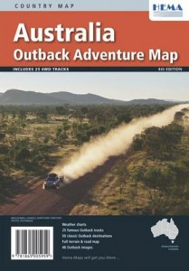 HEMA Outback Adventure Map