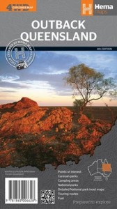 HEMA Outback Queensland Map