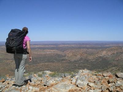 Larapinta Trail, West MacDonnell Ranges, outback Australia, hiking
