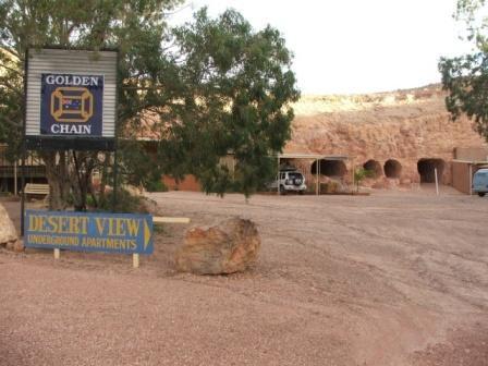 Underground Hotels, Coober Pedy, Australia, Desert View